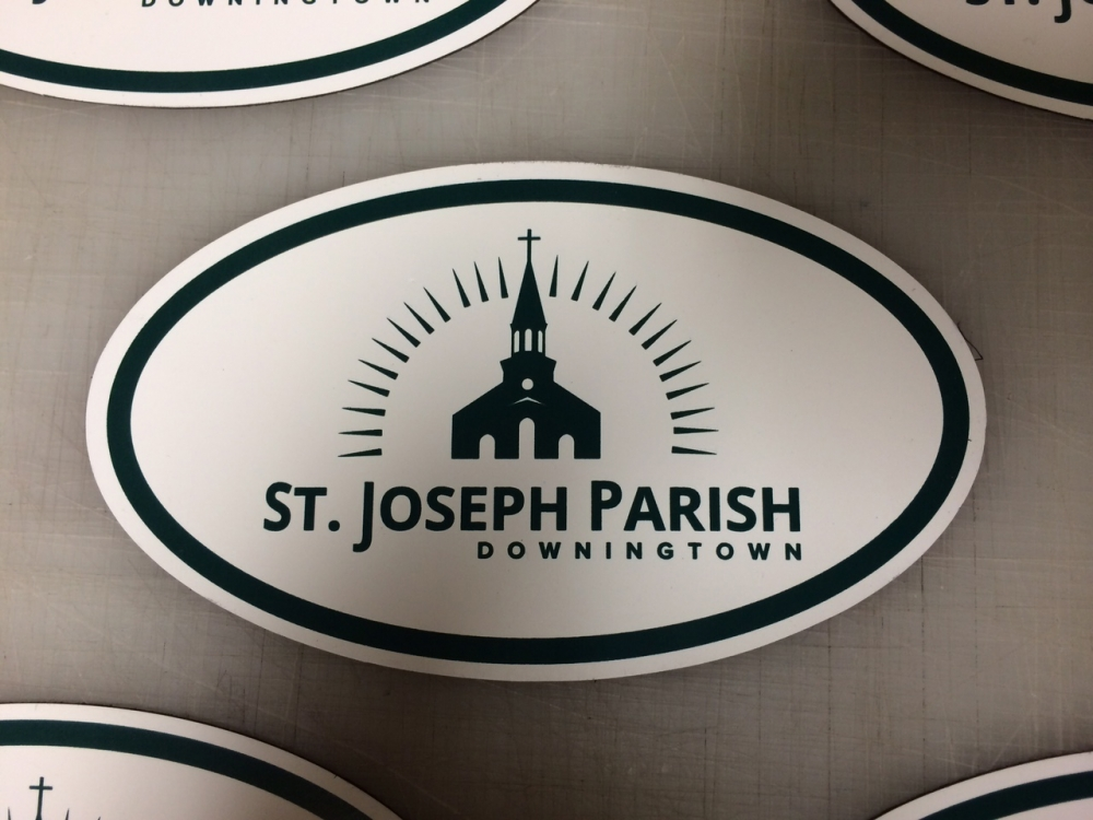 St Joseph Parish 1 decal Sign Studios