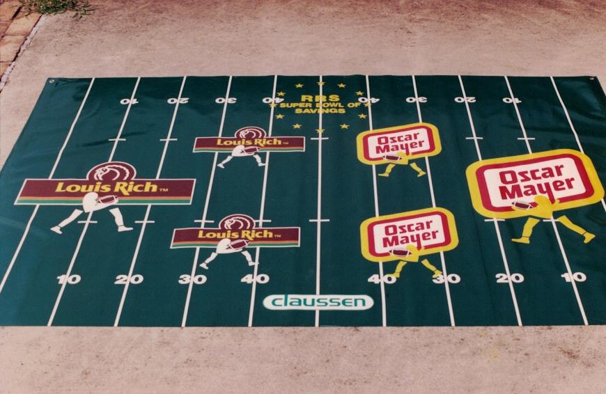 Oscar Mayer Super Bowl Banner