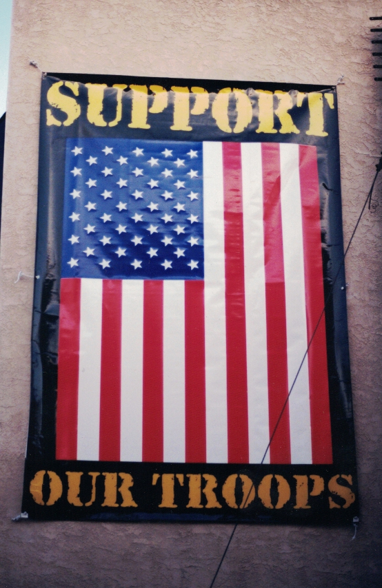 Support Our Troops Banner Sign Studios