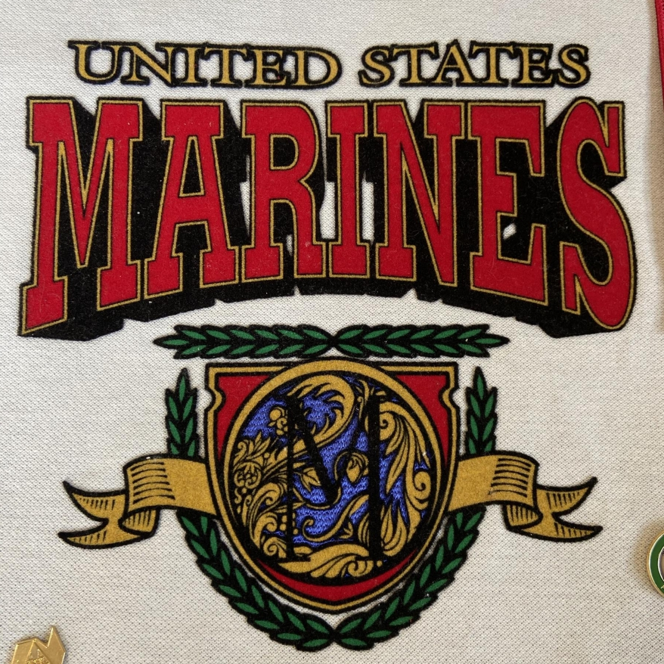 Marines Large Patch Sign Studios