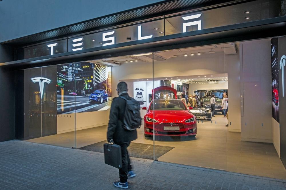 Tesla Channel Letters