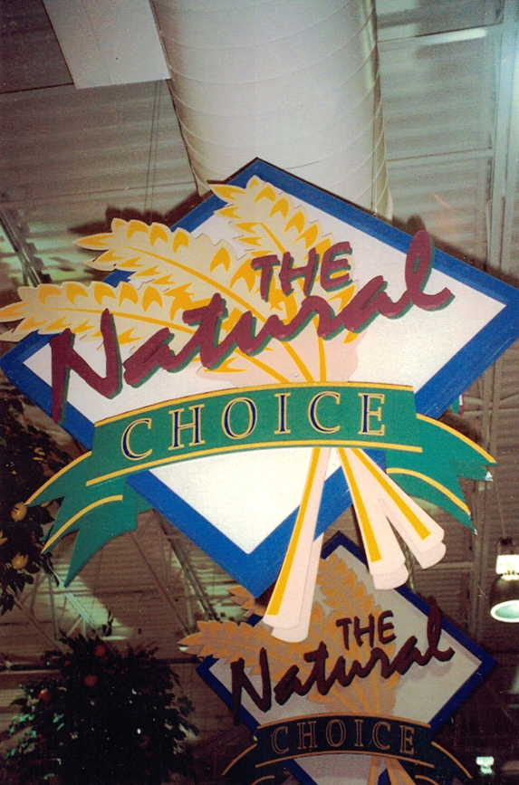 The Natural Choice grocery Sign Studios