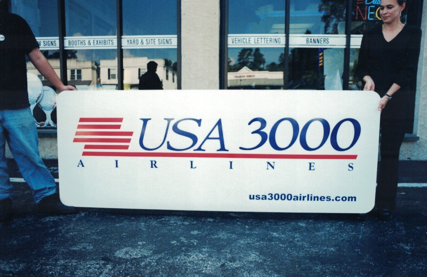 USA 3000 airport 3 Sign Studios