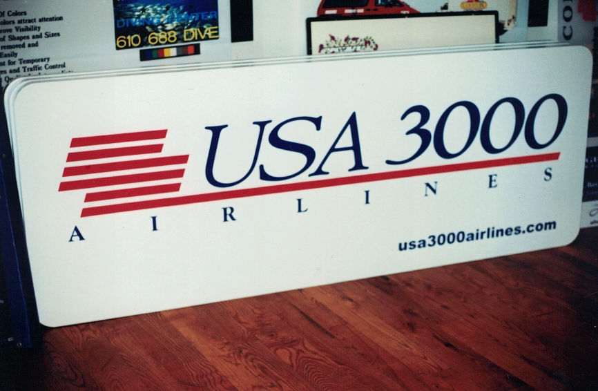 USA 3000 airport 5 Sign Studios