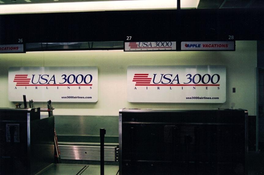 USA 3000 major corps Sign Studios