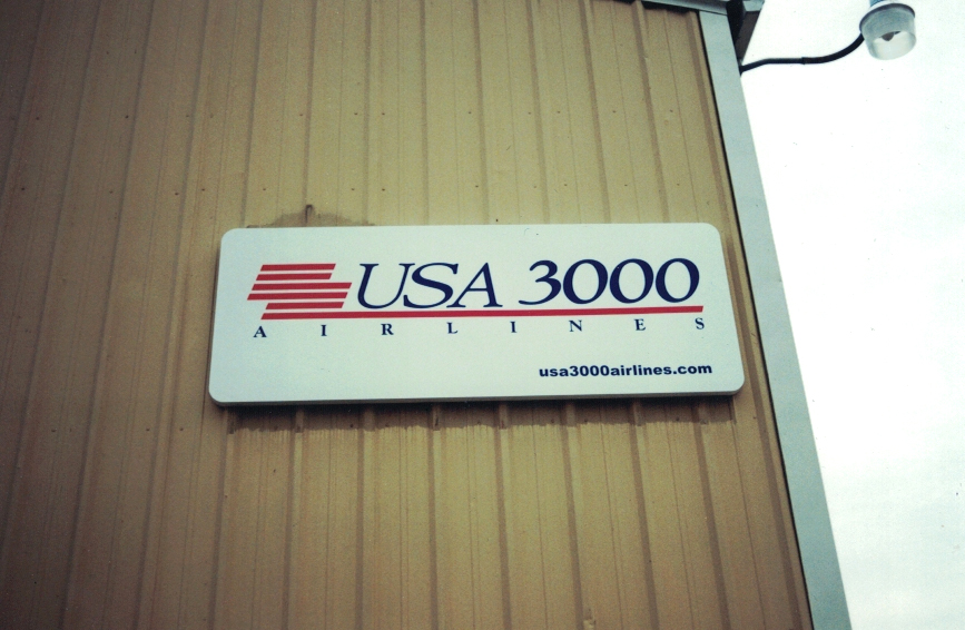 USA 3000 on Building