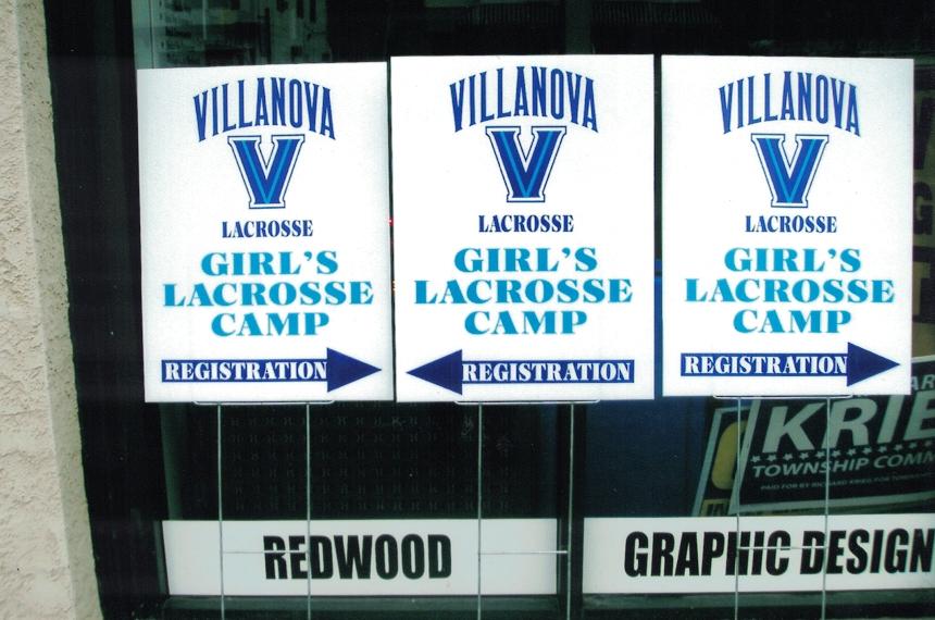 Villanova Lacrosse directional