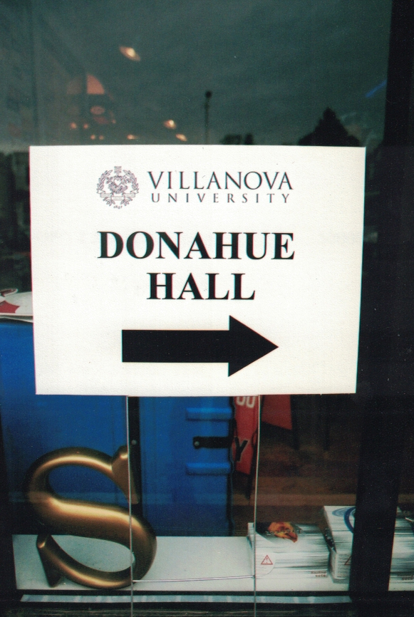Villanova site sign Sign Studios