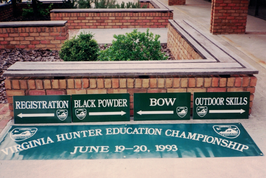 Virgina  Hunter Education Championship sports