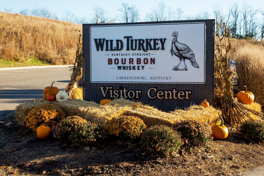 Wild Turkey Post & Panel Sign Studios