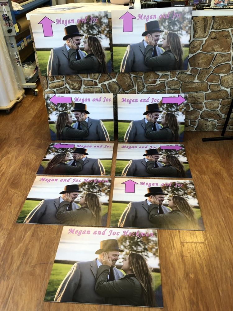 Wedding Signs Digital Print