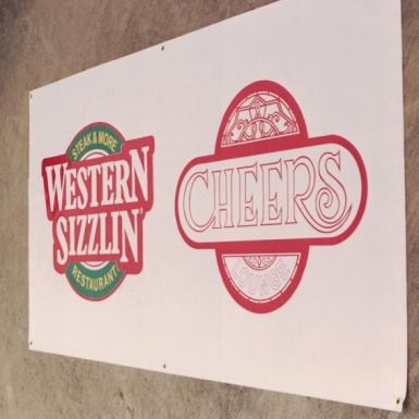 Western Sizzlin Restaurant Sign Studios