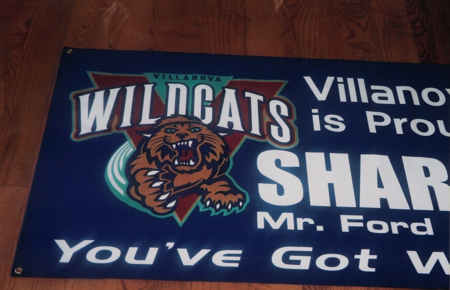 WildCats villanova colleges Sign Studios