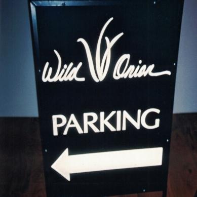 Wild Onion Restaurant Sign Studios