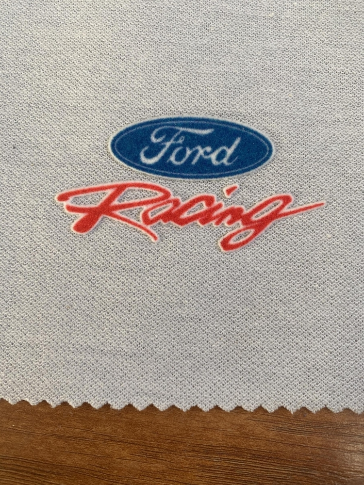 Ford Racing Patch Sign Studios