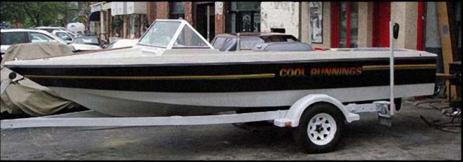 Cool Runnings Boat