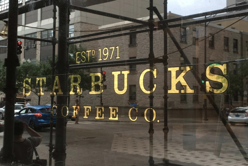 Starbucks Gold Leaf