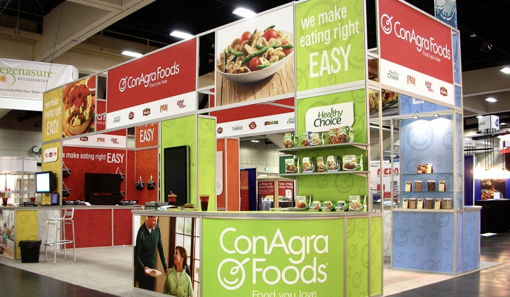 Conagra Foods Tradeshow Booth