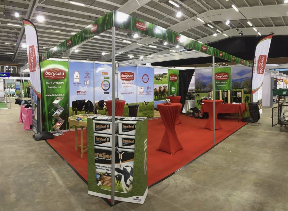 Dairygold Tradeshow Booth