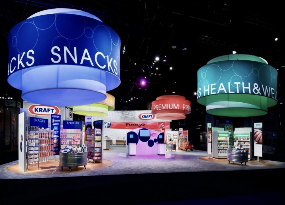 Kraft Tradeshow Booth
