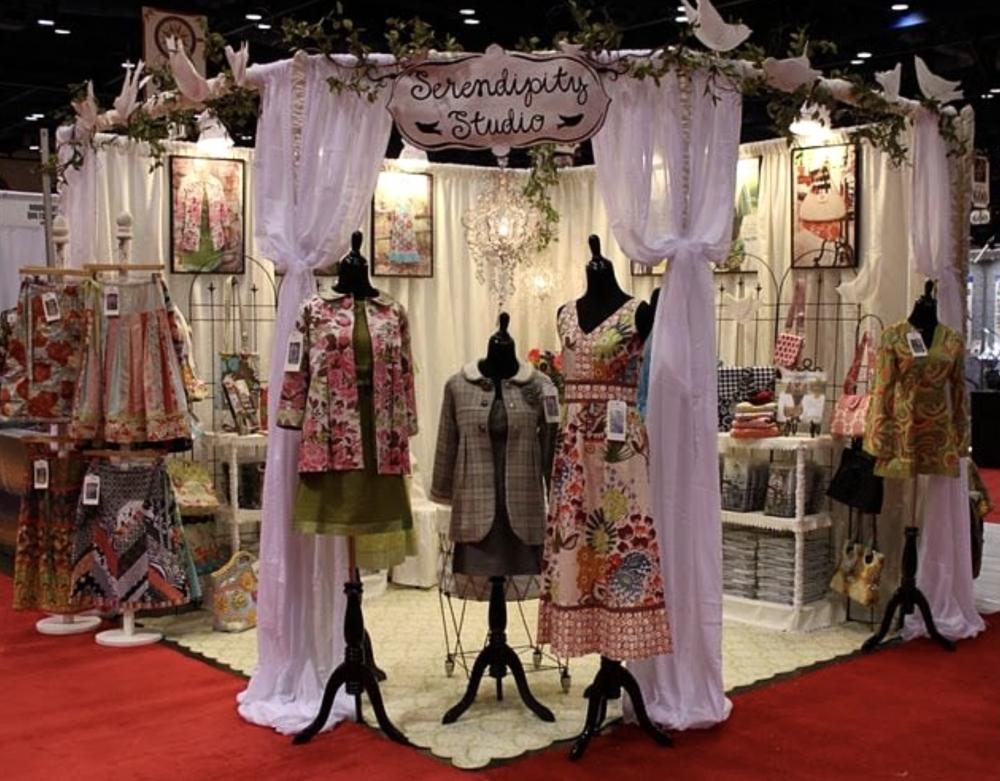 Serendipity Studio Tradeshow Booth