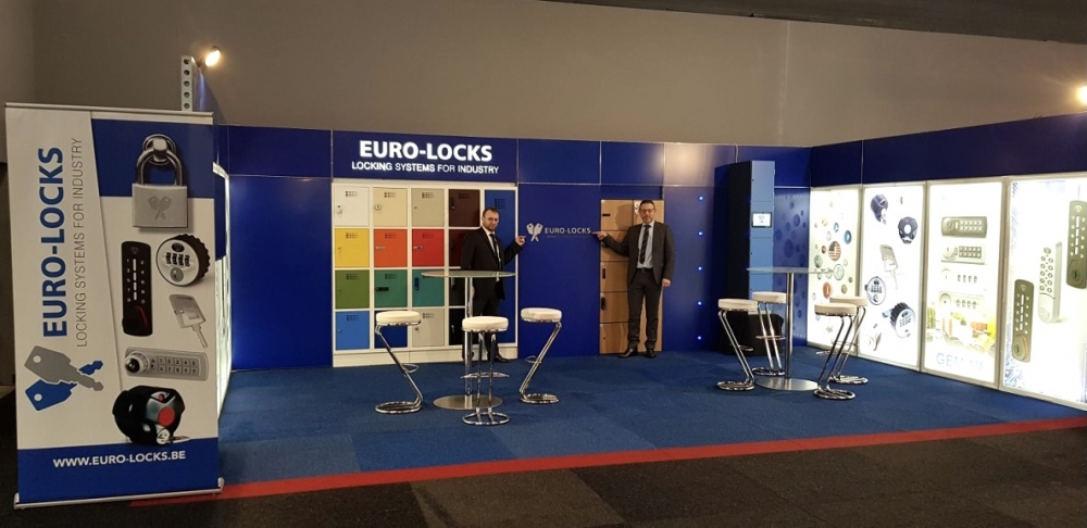 Euro-Locks Tradeshow Booth
