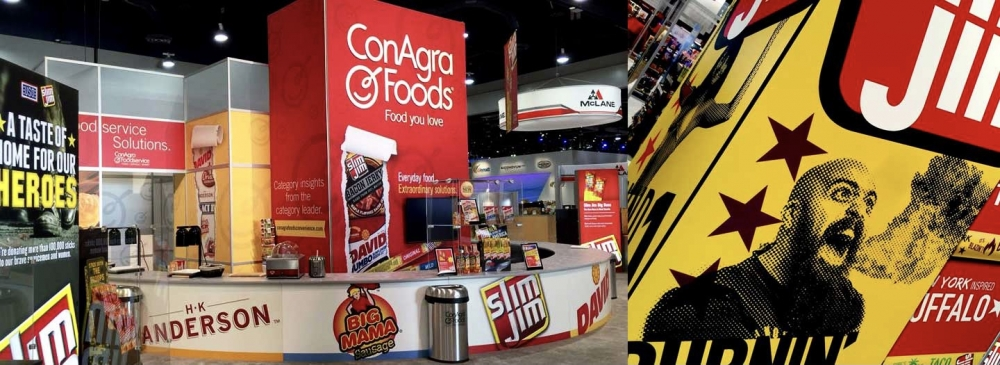 Conagra Food Tradeshow Booth