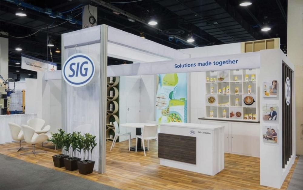 SIG Tradeshow Booth