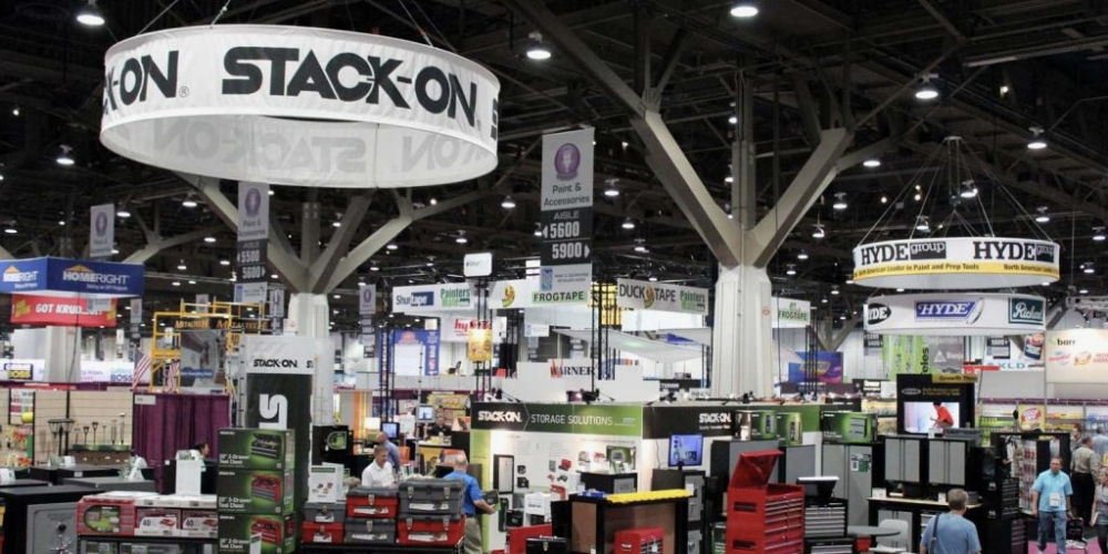 Stack-On Tradeshow Booth