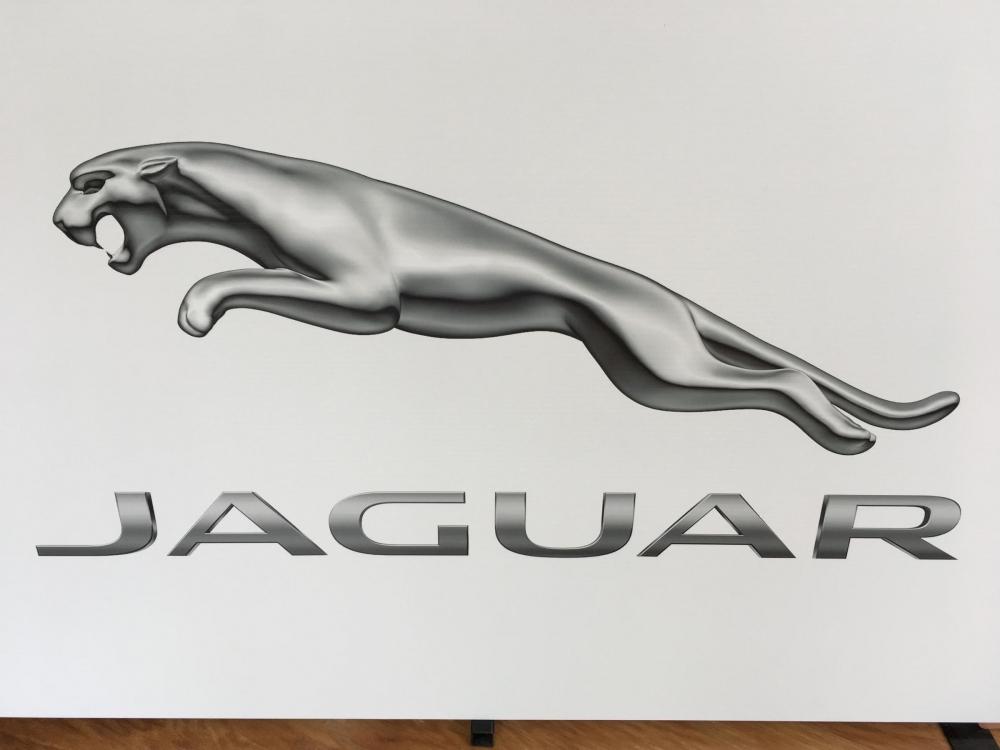 Jaguar Logo closeup