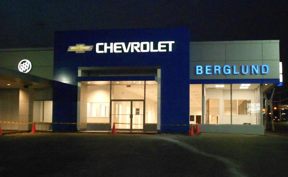 Chevrolet Channel Letters Night