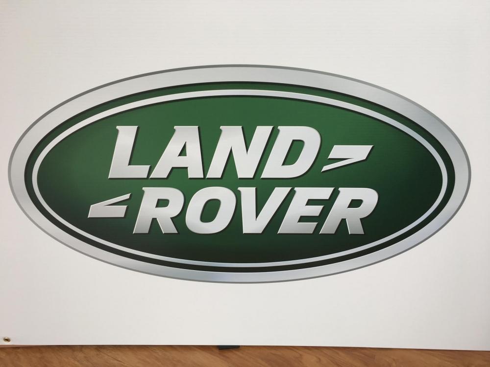 Landrover Logo closeup