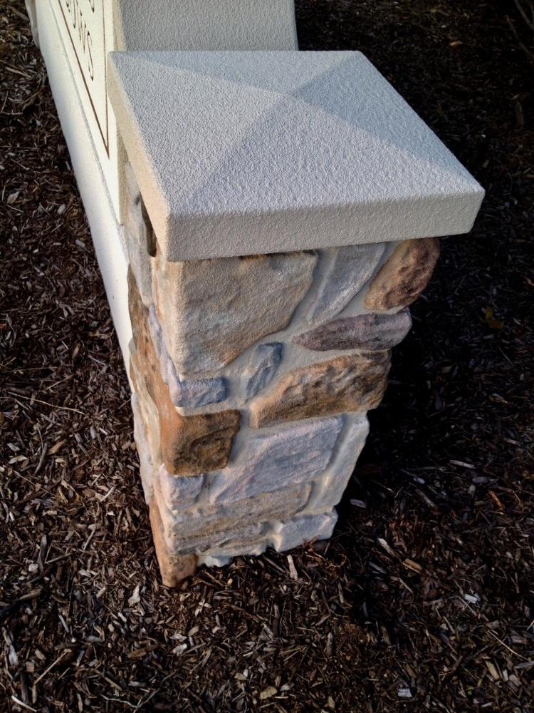Matthews Meadows Side Pillar