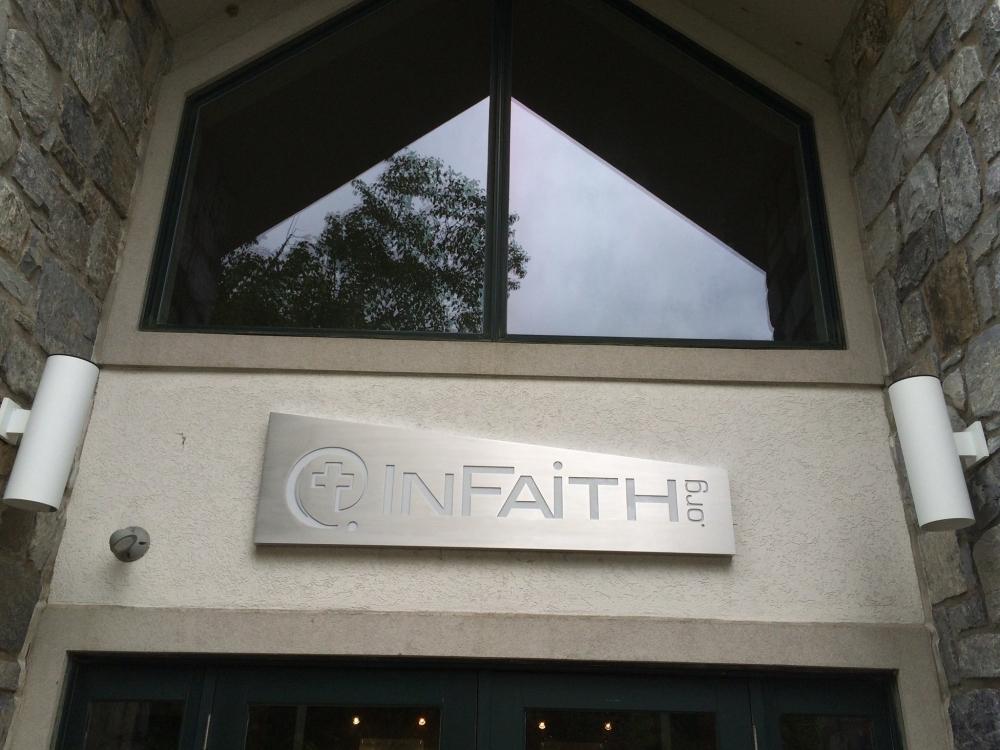 InFaith Aluminum Sign