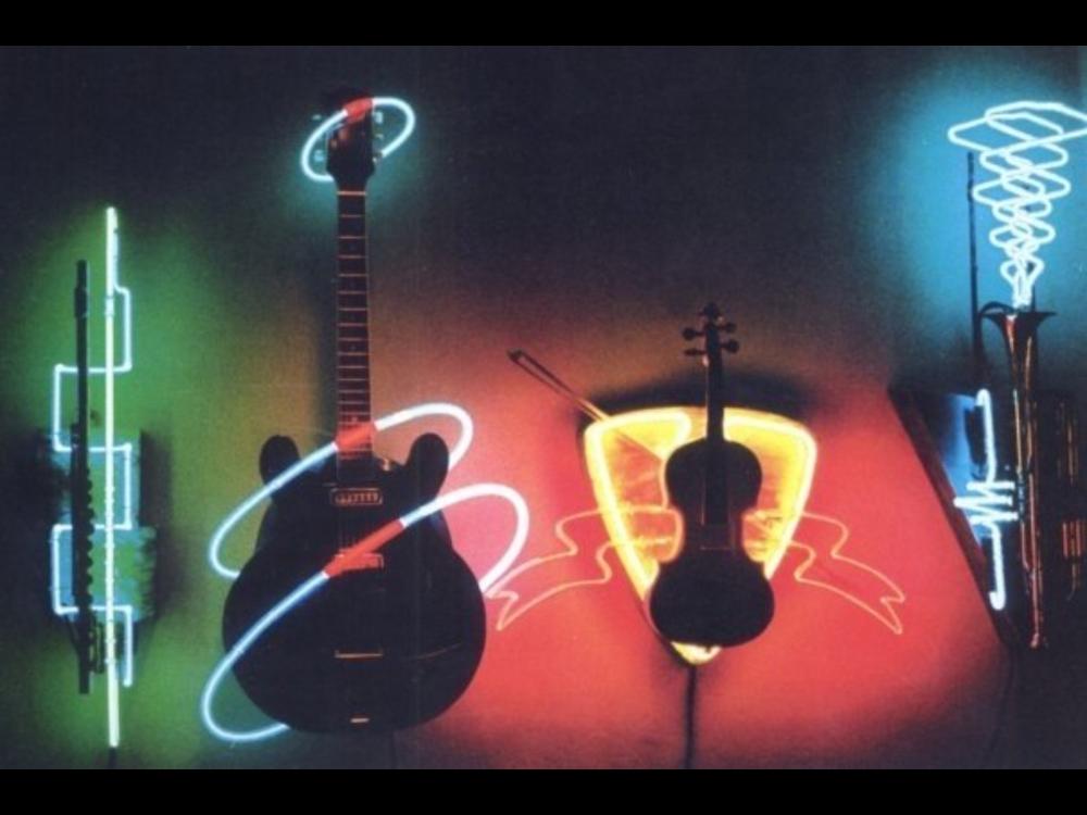 Neon on Guitars