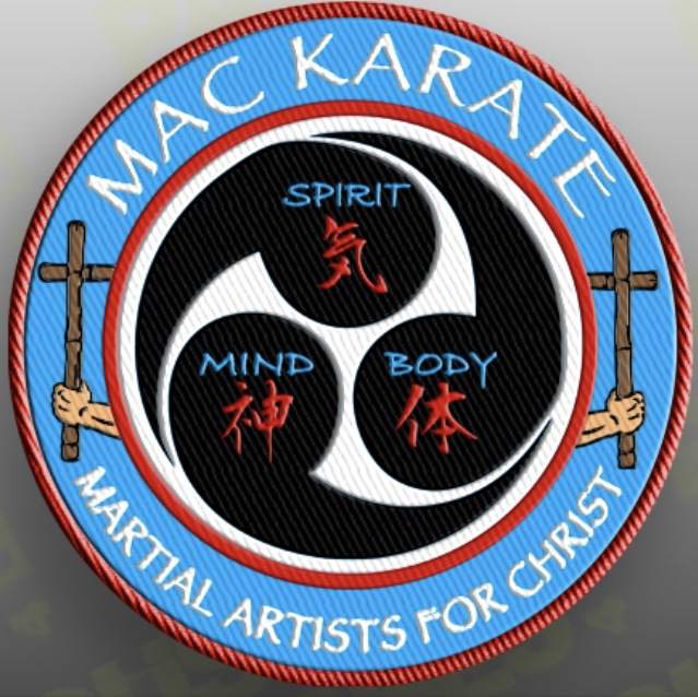 MAC Karate Patch Logo