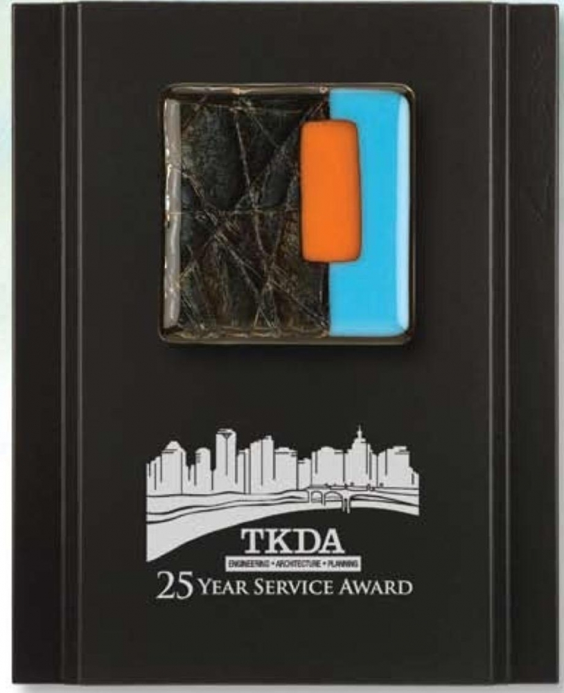 TKDA 25 Anniversary Plaque Sign Studios