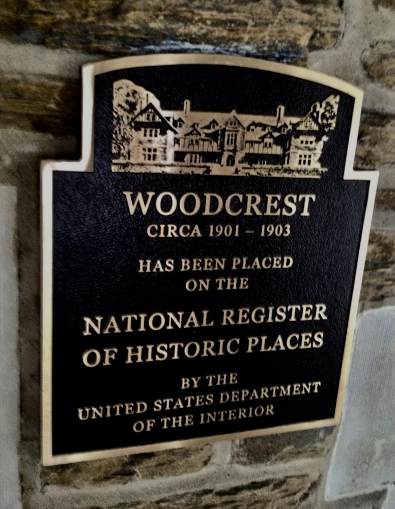Woodcrest Plaque