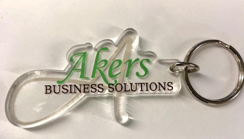 Akers Acrylic Keychain