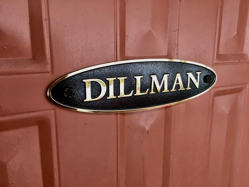 Dillman Plaque Sign Studios