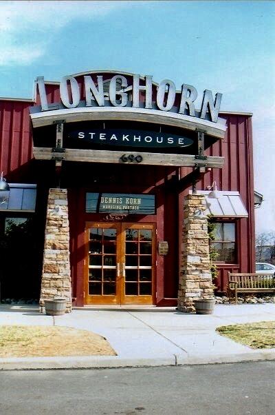 Longhorn Steakhouse Channel Letters