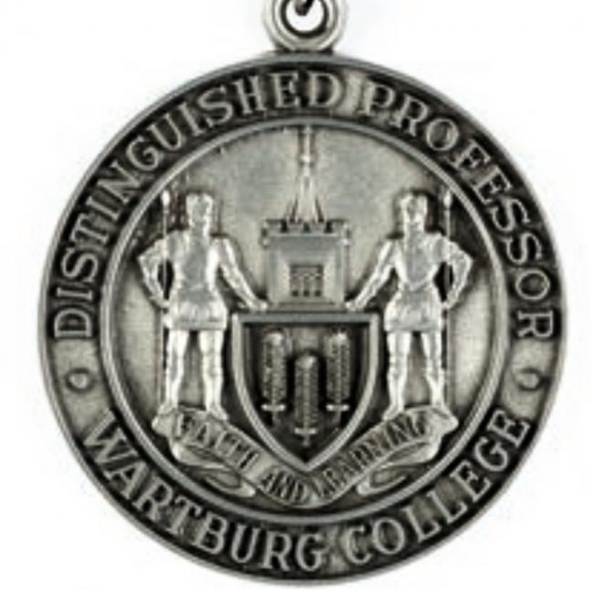 Distinguished Professor Wartburg College