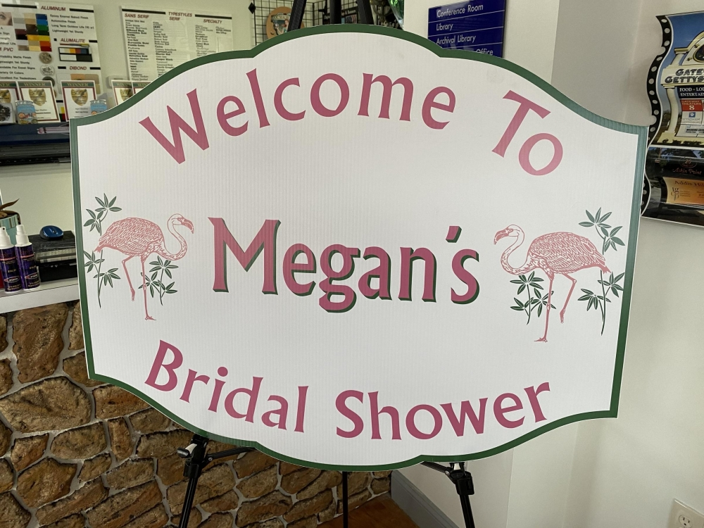 Welcome to Megan's Bridal Shower