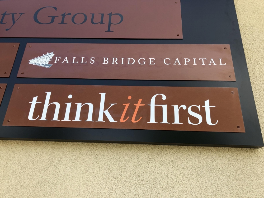 Fall Bridge Capital Lettering