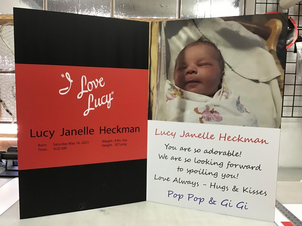 I Love Lucy Card Inside