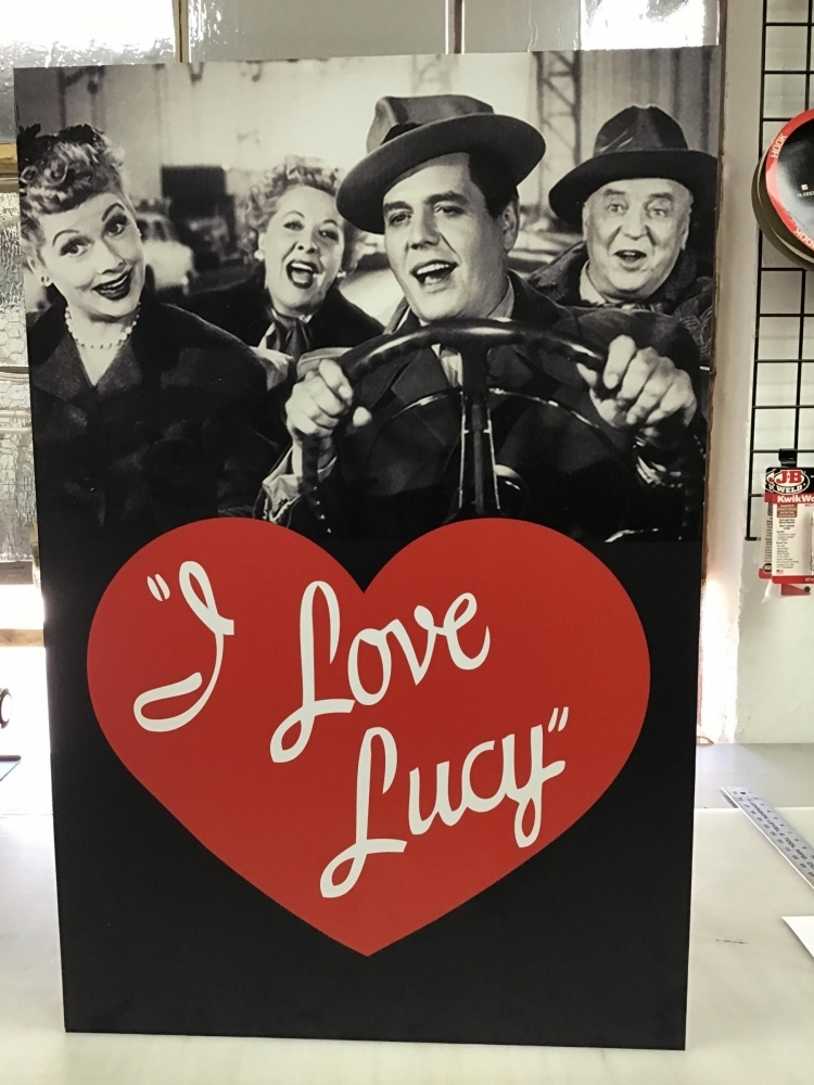 I Love Lucy Card