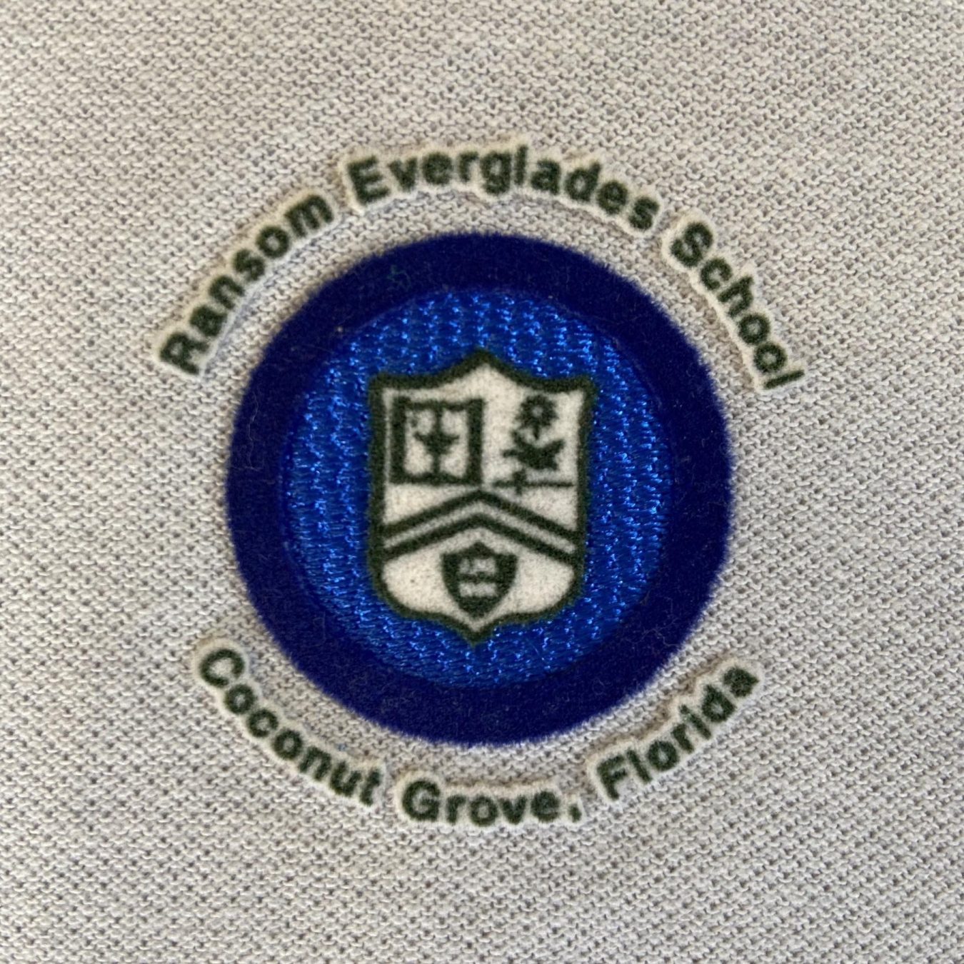 Ransom Everglades School 3D Patch