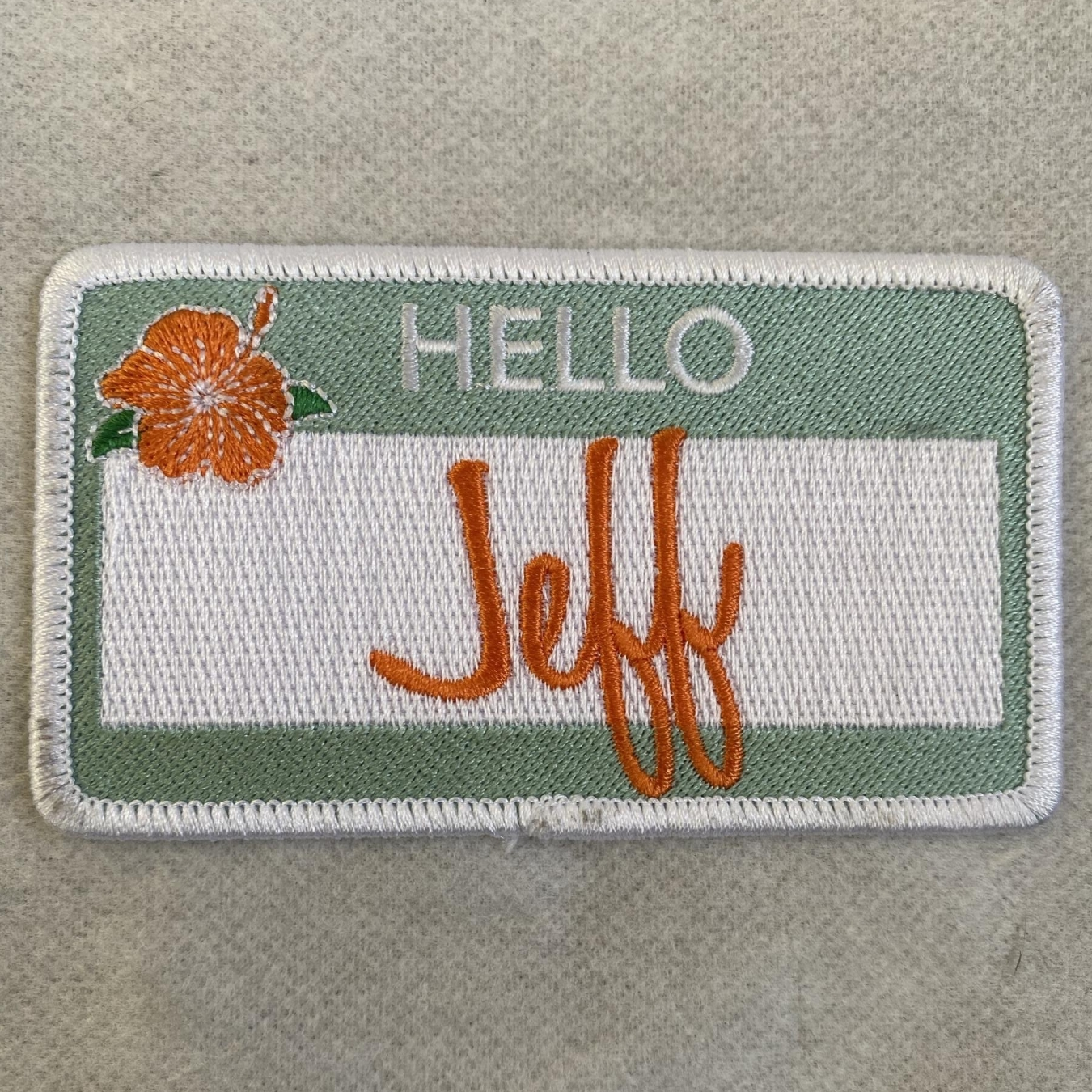 Hello Jeff Patch Sign Studios