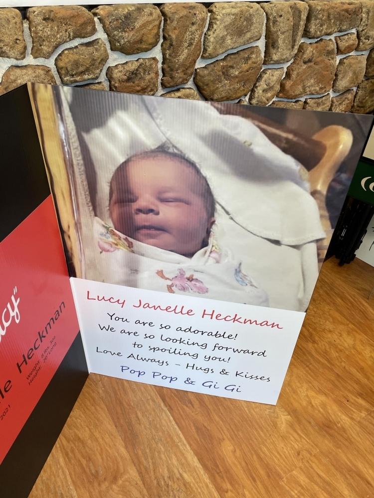 I Love Lucy Card Baby closeup