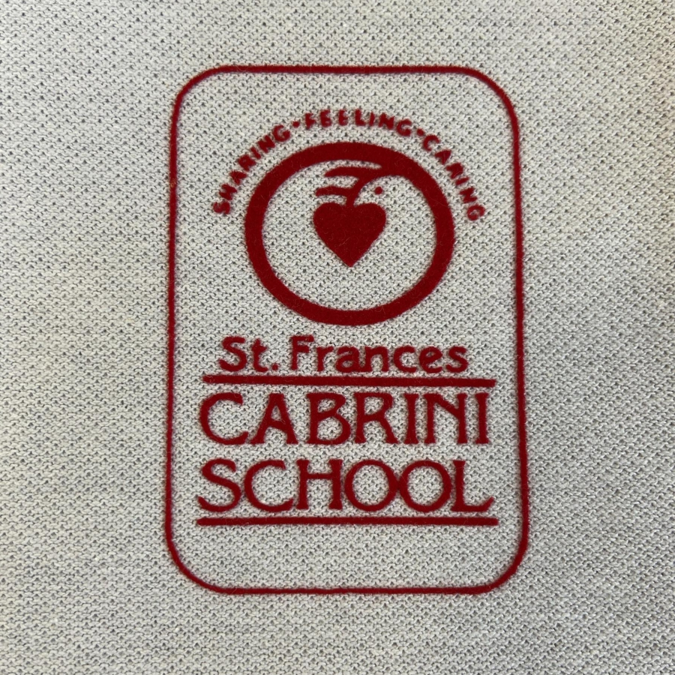 St. Frances Cabrini School Patch Sign Studios